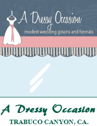 A Dressy Occasion Modest Wedding Dresses In Orange County California