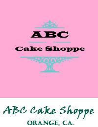 ABC Cake Shoppe Wedding Cakes In The City Of Orange California