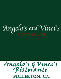 Angelos And Vincis ristorante Wedding Venue In Fullerton California