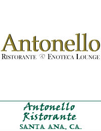 Antonello Ristorante Wedding Venue In Santa Ana California