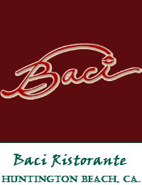 Baci Restaurant Wedding Venue In Huntington Beach California