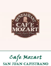 Cafe Mozart Wedding Venue In San Juan Capistrano California