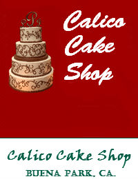 Calico Cake Shop Buena Park California