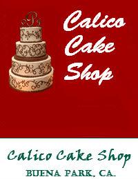 Calico Cake Shop Wedding Cakes In Buena Park California