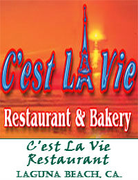 Cest La Vie Restaurant Wedding Venue In Laguna Beach California