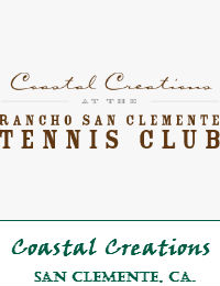 Coastal Creations At The Rancho San Clemente Tennis Club Wedding Venue In San Clemente California