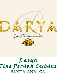 Darya Fine Persian Cuisine Wedding Venue In Santa Ana California