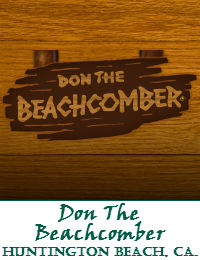 Don The Beachcomber Wedding Venue In Huntington Beach California
