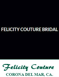 Felicity Couture Bridal Wedding Dresses Orange County In Corona Del Mar California