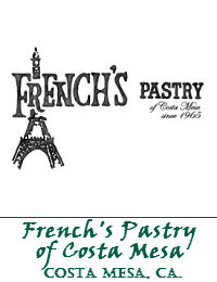 Frenchs Pastry Wedding Cakes In Costa Mesa California