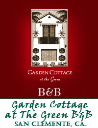 Garden Cottage At The Green Bed And Breakfast Wedding Venue In San Clemente California
