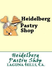 Heidelberg Pastry Shop Wedding Cakes In Laguna Hills California