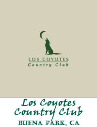 Los Coyotes Country Club In Buena Park California