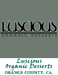 Luscious Organic Desserts Wedding Cakes In Orange County California