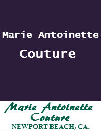 Marie Antoinette Couture Wedding Dresses Orange County In Newport Beach California