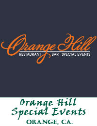 Orange Hill Restaurant Bar Special Events And Weddings Located In The City Of Orange California