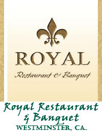 Royal Restaurant Wedding Venue In Westminster Ca