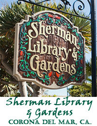 SHERMAN LIBRARY AND GARDENS WEDDING VENUE IN CORONA DEL MAR CALIFORNIA