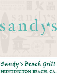Sandys Beach Grill Wedding Venue In Huntington Beach California