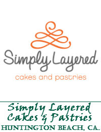 Simply Layered Cakes And Pastries Wedding Cakes In Huntington Beach California
