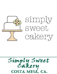 Simply Sweet Cakery Wedding Cakes In Costa Mesa California