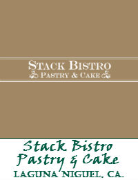 Stack Bistro Pastry And Cake Wedding Cakes In Laguna Niguel California