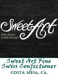 Sweet Art Fine Swiss Confectioner Wedding Cakes In Costa Mesa California