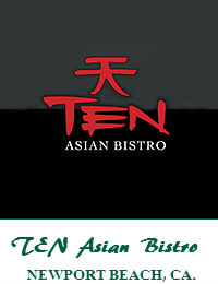 TEN Asian Bistro Wedding Venue In Newport Beach