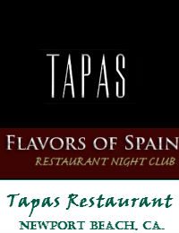 Tapas Restaurant Wedding Venue In Newport Beach California