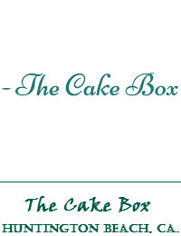 The Cake Box Wedding Cakes In Huntington Beach California