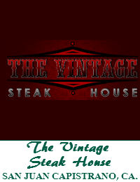 The Vintage Steak House Wedding Venue In San Juan Capistrano