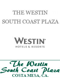 The Westin South Coast Plaza Wedding Venue In Costa Mesa California