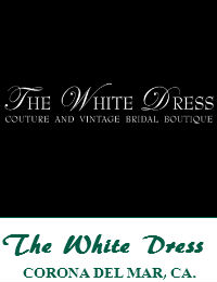 The White Dress Wedding Dresses Orange County In Corona Del Mar California