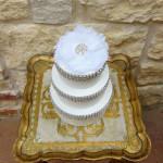orange county wedding cake
