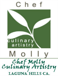 Chef Molly Culinary Artistry In Laguna Hills California
