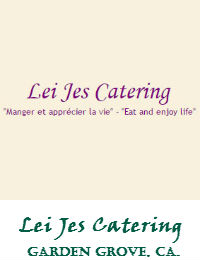 Lei Jes Catering In Garden Grove California