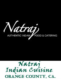 Natraj Authentic Indian Cuisine And Catering In Orange County California