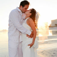 beach wedding dresses orange county in love