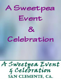 A Sweetpea Event And Celebration In San Clemente California