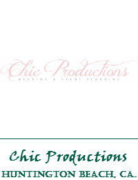 Chic Productions Wedding And Event Planning In Huntington Beach California