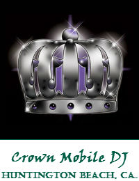 Crown Mobile DJ Orange County Wedding DJ In Huntington Beach California