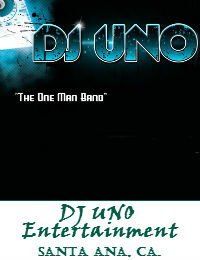 DJ UNO Entertainment Orange County Wedding DJ In Santa Ana California