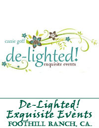 De-Lighted! Exquisite Events In Foothill Ranch California