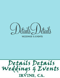 Details Details Weddings And Events In Irvine California