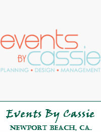 Events By Cassie Located In Newport Beach California