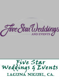 Five Star Weddings And Events Located In Laguna Niguel California