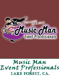 Music Man Event Professionals Orange County Wedding DJ In Lake Forest California