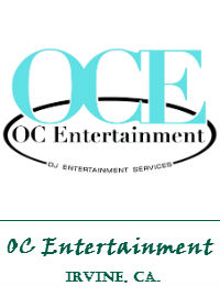 OC Entertainment Orange County Wedding DJ In Irvine California