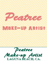 Peatree Makeup Artist Orange County In Laguna Beach California