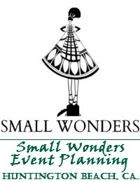 Small Wonders Event Planning Service In Huntington Beach California
